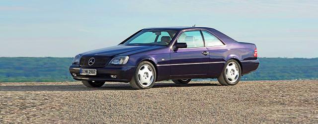 Razred SEC / CL (W140) prva generacija 1992 – 2000
