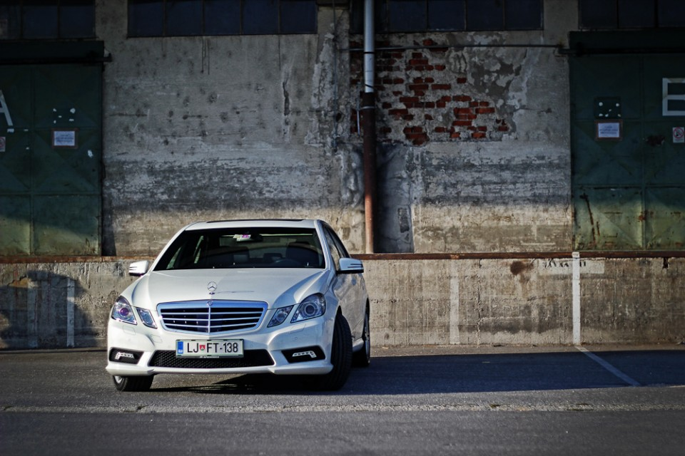 Test: E350 BlueEfficiency