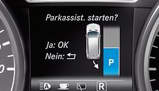 """Samodejno parkiranje potrdimo s tipko """"OK"""""""