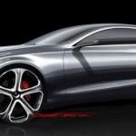 Skice novega S-razred Coupe-ja