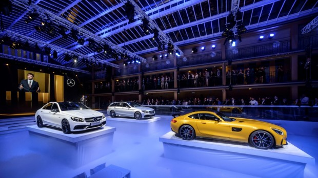"Mercedes-Benz Media Night im Piscine Molitor am Vorabend der ""Mondial de l´Automobile Paris 2014""Mercedes-Benz Media Night at the Picine Molitor on the occasion of the ""Mondial de l´Automobile Paris 2014"""