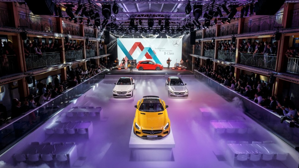 Mercedes-Benz na pariškem avtosalonu 2014