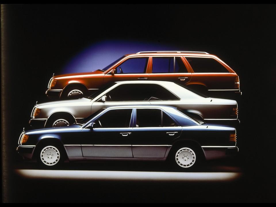Pregled: razred E – W124 (1984 – 1995)