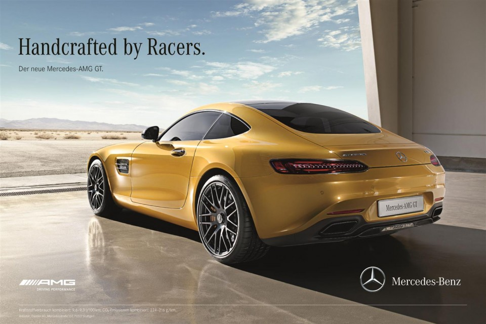 Marketinška kampanja za Mercedes-AMG GT