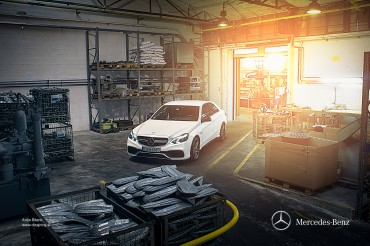 Ekskluzivno: ozadje Mercedes-Benz E63 AMG S
